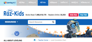 RAZ KIDS ebook